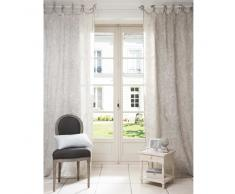 cortina de nudos de lino x cm mornay