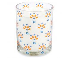 Vela perfumada en vaso Al. 10 cm CAPRI