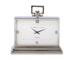 Reloj de mesa de metal con efecto cromado KINGSTON