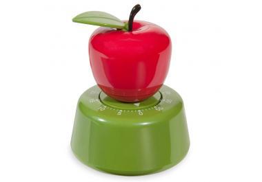 Temporizador de cocina manzana de plástico