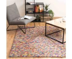 Alfombra multicolor de lana 160 × 230cm RAINBOW