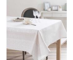 Mantel de algodón y lino crudo 170 x 250 cm LISBONNE