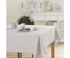 Mantel de algodón gris 150 x 350 cm CONSTANTINE