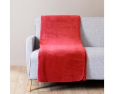 Manta suave rojo 150 x 230 cm CHALEUR