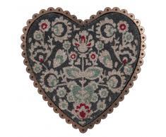 Felpudo corazón de fibra de coco 50 x 50cm MAGDALENA