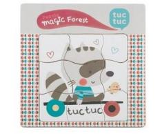 Tuc Tuc PUZZLE MADERA COMPLEJO MAGIC FOREST de Tuc-Tuc
