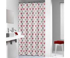Sealskin cortina de ducha 180 cm modelo Amor 235241359 (Roja)
