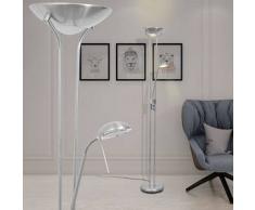 VidaXL lámpara de pie con LED regulable 23 W