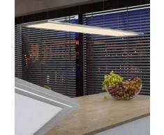 VidaXL Lámpara de techo LED, 30 x cm, 12 W, Blanco cálido