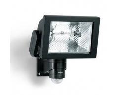 Steinel Foco con Sensor para el exterior, HS 500 Duo, color negro