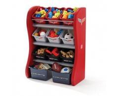 Step2 Mueble de almacenaje para niños Corvette