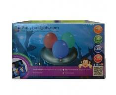 Party Fun Lights Lámpara LED de mesa infantil en forma huevos mágicos,