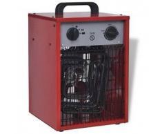VidaXL Calentador industrial eléctrico y portátil, 5 kW 200 m³/h