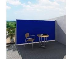VidaXL Patio Terraza Toldo Lateral - 180 x 300 cm Azul