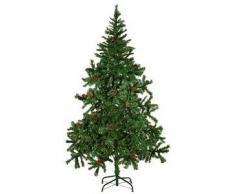 VidaXL Árbol De Navidad Artificial Con Piña 180 cm