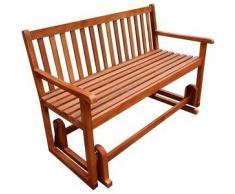 VidaXL banco mecedor para terraza de madera acacia