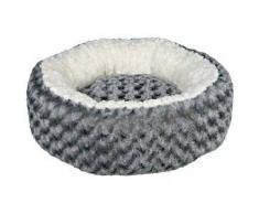 TRIXIE Cama para perro Kaline 50 cm gris y crema 38958