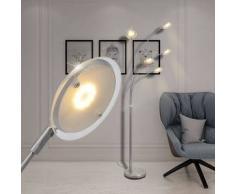 VidaXL lámpara de pie regulable con LED 25 W