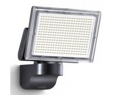 Steinel Foco negro para el exterior, marca XLED Home 3 Spotlight