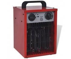 VidaXL Calentador industrial eléctrico y portátil, 2 kW 100 m³/h