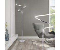 VidaXL Lámpara de pie con luz LED 19 W