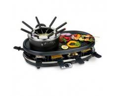 Trebs Gourmet Grill y Fondue Set Negro 1800 W 99322