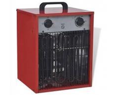 VidaXL Calentador industrial eléctrico y portátil, 9 kW 300 m³/h