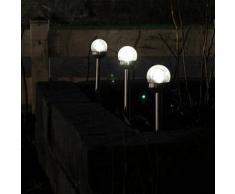 Luxform Estaca solar para jardín, Malaga, 24 unidades