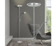 VidaXL lámpara de pie regulable con LED 23 W
