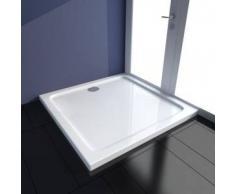 VidaXL Plato de ducha cuadrado, 90 x cm
