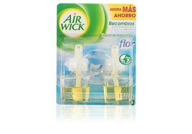 AIR WICK AIR-WICK AMBIENTADOR ELECTRICO RECAMBIO LOTE 2 pz