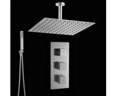 Hudson reed Conjunto ducha con Llave Mezcladora Termostática Completa 2 Funciones