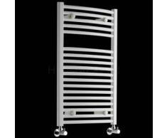 Hudson reed Radiador Toallero - Acero - Curvo - Blanco - 800 x 500mm - 419 Vatios