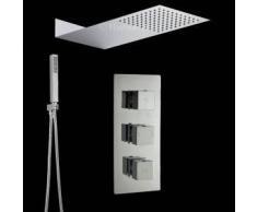 Hudson reed Conjunto de ducha Llave Mezcladora Termostática Completa 2 Funciones