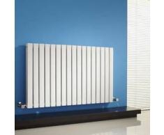 Hudson reed Radiador Diseño Horizontal Doble Blanco Calefacción Central