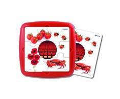 MINILAND Puzzle infantil MINILAND: El color rojo 6 pcs