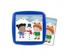 MINILAND Puzzle infantil MINILAND: El invierno 12 pcs