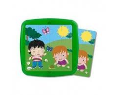 MINILAND Puzzle infantil MINILAND: La primavera 12 pcs