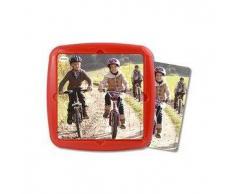 MINILAND Puzzle infantil MINILAND: Paseo en bici 36 pcs