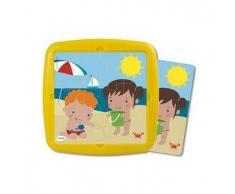 MINILAND Puzzle infantil MINILAND: El verano 12 pcs