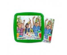 MINILAND Puzzle infantil MINILAND: El cumpleaños 36 pcs