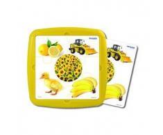 MINILAND Puzzle infantil MINILAND: El color amarillo 6 pcs