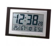 Q&Q Reloj de pared digital