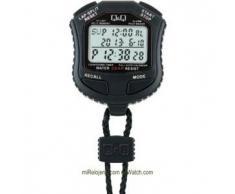Q&Q Cronómetro de mano Lap Memory 10