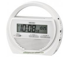 Seiko Despertador Digital con Radio y Cargador