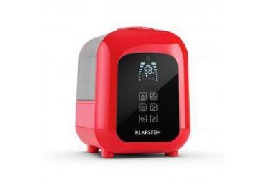 klarstein Sevilla Humidificador Ionizador Ambientador Ultrasonido 4,5l Rojo