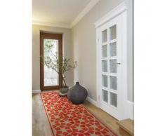 Benuta Alfombra de pasillo Anis Naranja 80x240 cm