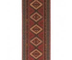 Brink & Campman Alfombra de pasillo Kashmir Rojo 70x250 cm