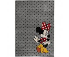 Disney Alfombra niños Minnie Mouse Gris 80x150 cm