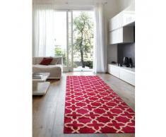 Benuta Alfombra de pasillo Arabesque Rosa 80x240 cm